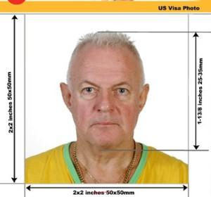 USA Visa Photo Specification